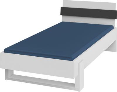 Röhr-Bush Bett Highlight 90 x 200 cm, anthrazit