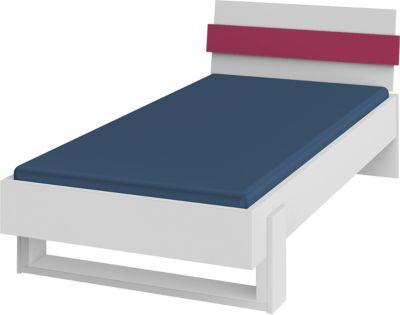 Röhr-Bush Bett Highlight 90 x 200 cm, fuchsia