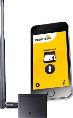 Schellenberg AS  Smartphone-Garagentoröffner 2.0 mit Netzteil