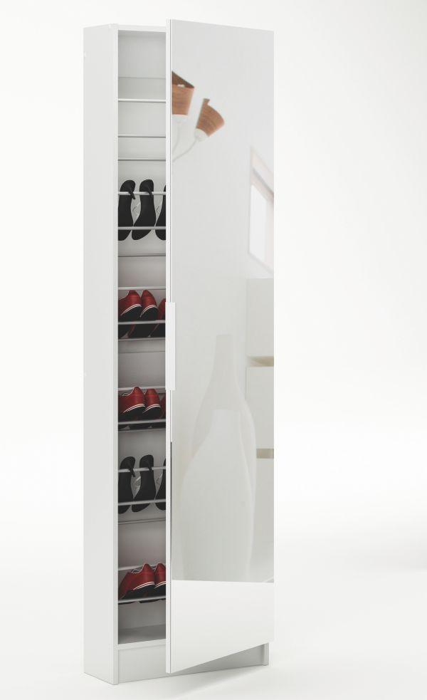 schuhschrank goswin schuhregal spiegelt r. Black Bedroom Furniture Sets. Home Design Ideas