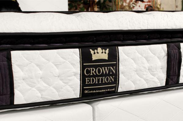 crown boxspringbett angel deluxe hotelbett amerikanische. Black Bedroom Furniture Sets. Home Design Ideas