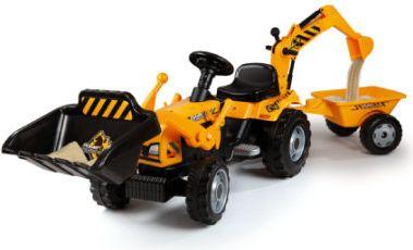 Power Builder Traktor mit Anhänger