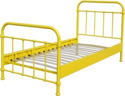 vipack-metallbett-new-york-90x200-cm-gelb