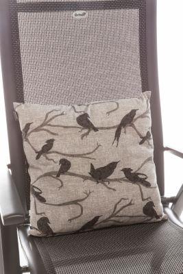 Hartman Outdoor Hartman Zierkissen, Baumwolle/Polyester - Birdy grey