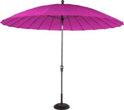 Hartman Outdoor Hartman Sonnenschirm Shanghai Line 300 cm, New pink