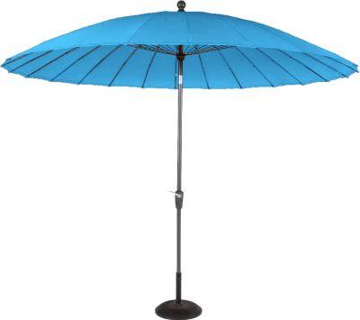Hartman Outdoor Hartman Sonnenschirm Shanghai Line 300 cm, New blue