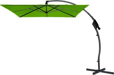 Hartman Outdoor Hartman Ampelschirm Tenero 250x250 cm, New green