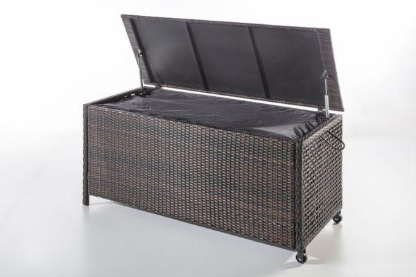 geflecht kissenbox gartenkissenbox gartenbox kiste truhe aufbewahrung ebay. Black Bedroom Furniture Sets. Home Design Ideas