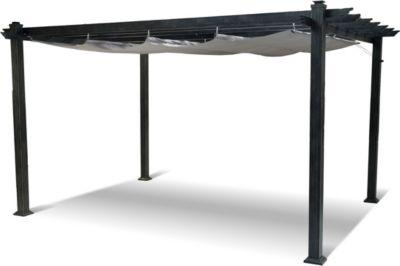 Hartman Pavillon Pergola  400x300 cm  Aluminiumgestell  pulverbeschichtet