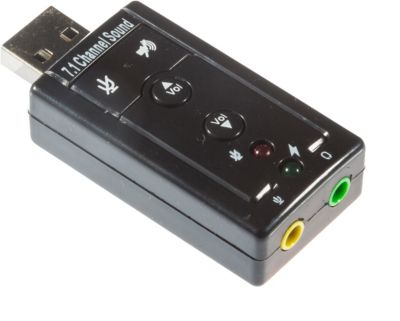externe Soundkarte USB