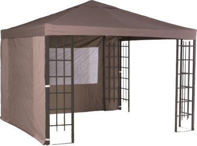 Garden Impressions  2er Set Seitenwände Pavillon Promo Alu, 300x300 cm