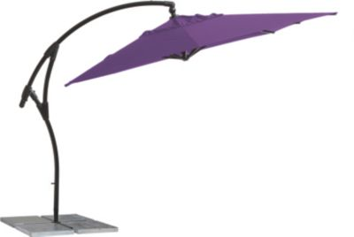 Ampelschirm Mallorca 320x320, Purple