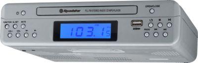 CLR-2540UMPSL Unterbauradio mit CD, MP3, AUX-IN, USB und Fernbedienung