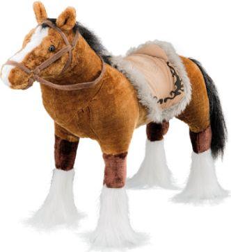 Pferd mit Sound, braun