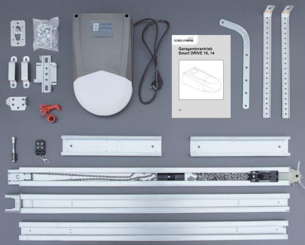 schellenberg smart drive sd10 garagentorantrieb garagentor ffner schwingtor. Black Bedroom Furniture Sets. Home Design Ideas