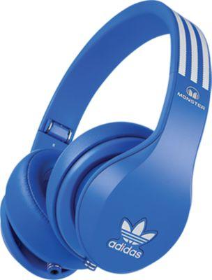 Monster Adidas OverEar Kopfhörer - blau