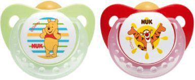 Beruhigungssauger Trendline Disney Winnie Ring Gr. 1 Grün/Rot