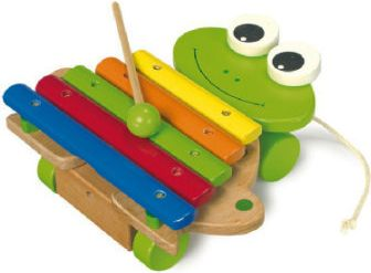 Xylophon Frosch