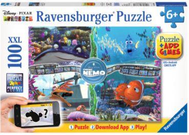 Puzzle XXL 100 Teile - Findet Nemo + Gratis-App