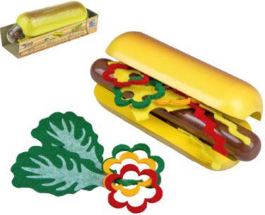 Holz-Hot Dog