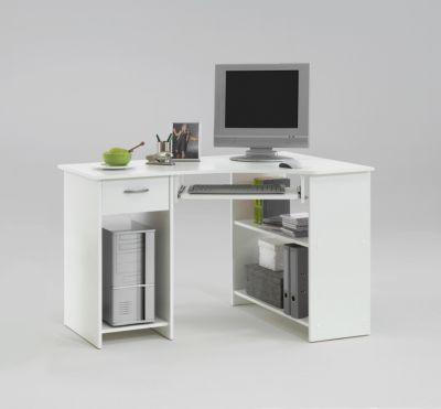 FMD Computertisch Felix Weiß
