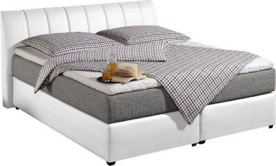 bett weiss 180x200 preisvergleich die besten angebote. Black Bedroom Furniture Sets. Home Design Ideas