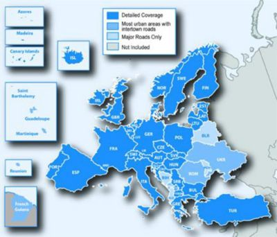 Garmin Straßenkarte SD Europa NT Update
