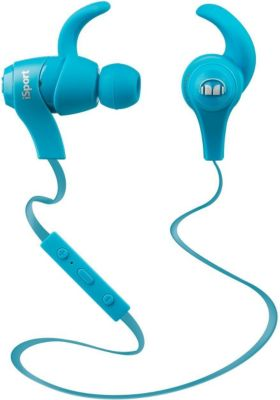 Monster iSport wireless InEar Kopfhörer - blau