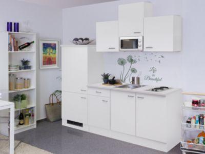 Flex well küchenzeile g 210 1602 000 wito 210 cm