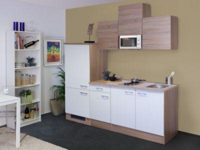 Flex well küchenzeile g 210 1602 000 samoa 210 cm