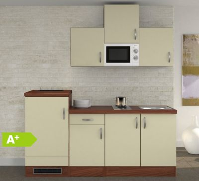 Flex well küchenzeile g 210 1602 000 sienna 210 cm