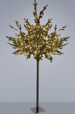 *All for X-Mas*: LED-Baum mit Tannenzapfen aus Kunststoff