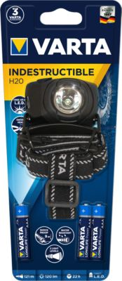 VARTA 1 Watt LED Indestructible Head Light 3AAA...
