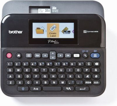 P-touch D600VP Desktop Beschriftungsgerät+Koffer 1660796000