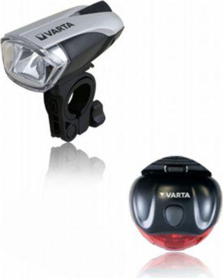Fahrradbeleuchtung LED Bike Light Set inkl. Batterien