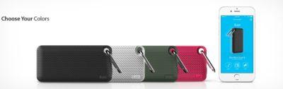 iLuv  AudMini Smart6 Bluetooth Lautsprecher - grau