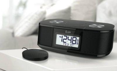 TimeShaker Micro Bluetooth FM Stereo Uhrenradio - weiß