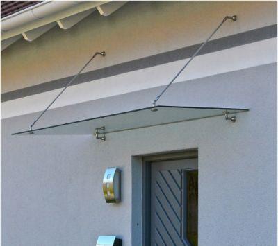 Home Deluxe Glasvordach, 200x90cm   Baumarkt > Modernisieren und Baün > Vordächer   Home Deluxe