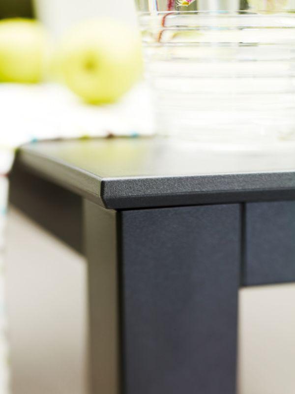 kettler tisch kettalux anthrazit anthrazit gartentisch. Black Bedroom Furniture Sets. Home Design Ideas