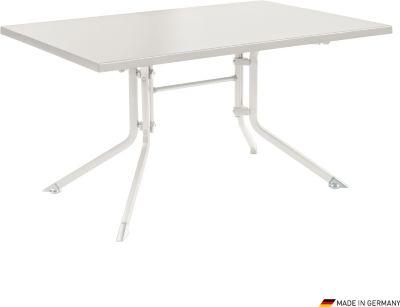 Klapptisch Kettalux 160x95 cm weiß