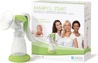 Amaryll Start Handmilchpumpe Set weiß/grün