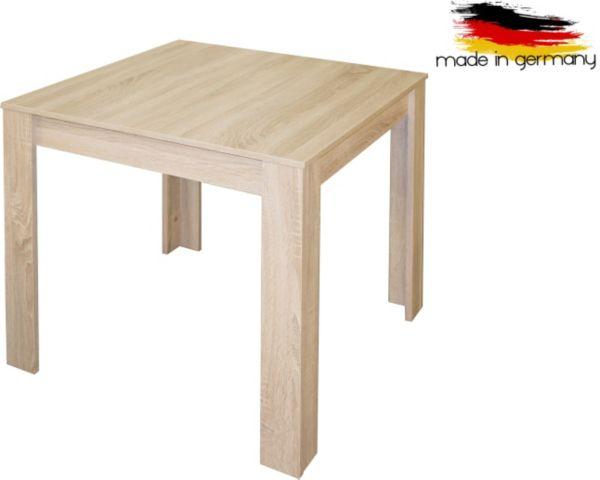 Esstisch 80x80 cm beistelltisch couchtisch tisch for Esstisch eiche 80x80