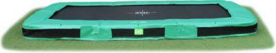 InTerra Rechteckig 214x366 Trampolin grün