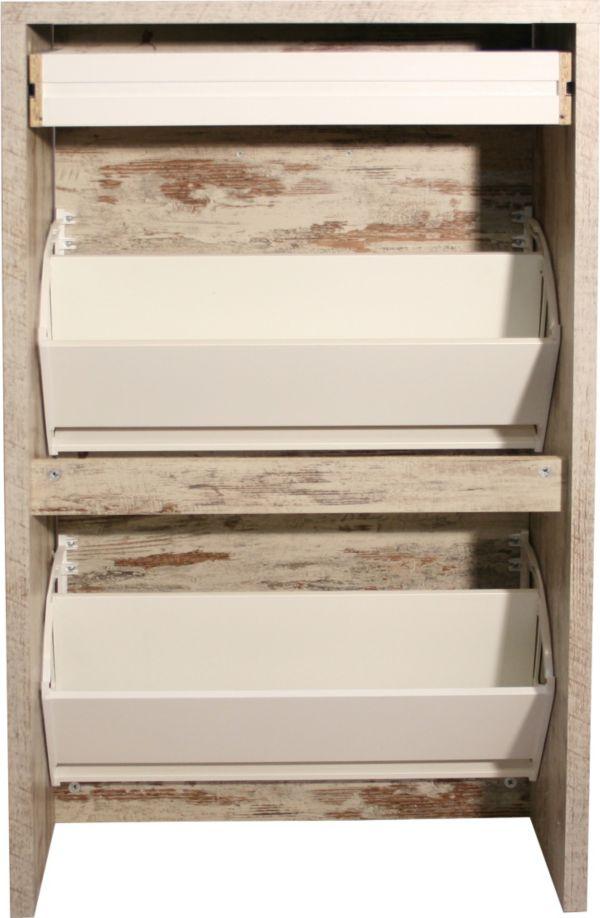 schuhschrank schuhkipper schuhe xxl schuhregal schuhkommode wei eiche ebay. Black Bedroom Furniture Sets. Home Design Ideas