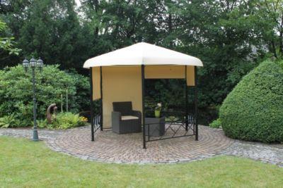 leco 6 eck pavillon baumarkt xxl. Black Bedroom Furniture Sets. Home Design Ideas