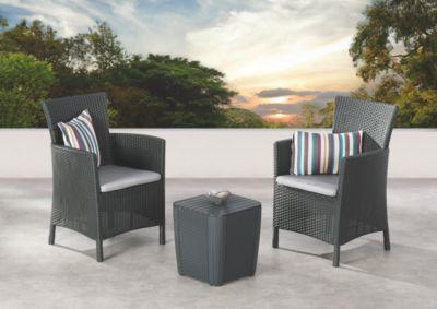 Best Freizeitmöbel Balkon-Set Napoli | Garten > Balkon > Balkon-Sets | Champagner | Glas | best freizeitmöbel