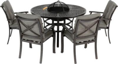 Hartman Outdoor Hartman Grill Sitzgruppe Jamie Oliver 130 cm, Aluminiumguss