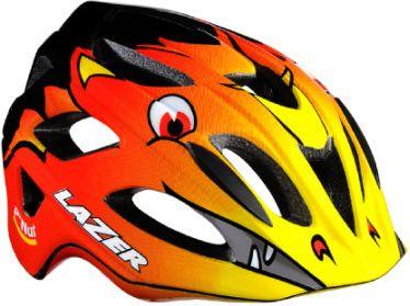 Kinder Fahrradhelm P´Nut Dragon Fire Gr. 45-53 cm + Crazy Nutshell Fireman