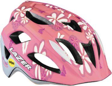 Kinder Fahrradhelm P´Nut + MIPS Flower Pink Gr. 52-56 cm