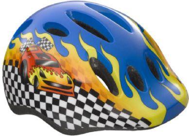 Kinder Fahrradhelm Max+ Race Car Unisize 49 - 56 cm